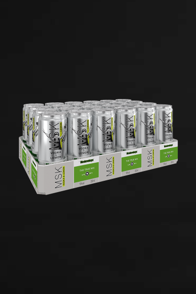 MSK Vodka & Lemon Le Shuuk Edition – 24 X 0,25l , 10% vol.