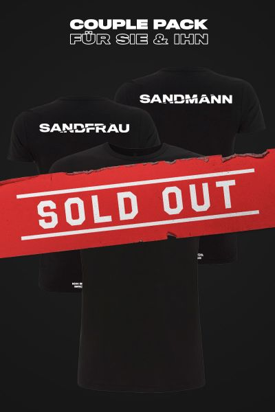 Couple Pack Sandmann & Sandfrau T-Shirt limited Edition by Le Shuuk