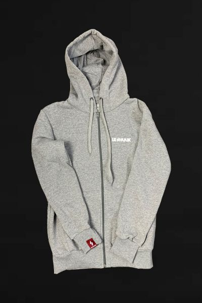 ICON HOODIE- ZIPPER (Grey)