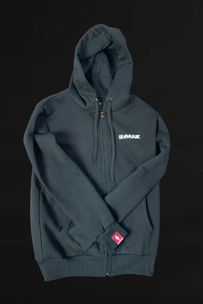 ICON HOODIE- ZIPPER (Black)